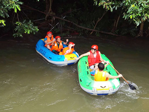 Lei Gongxia rafting activities